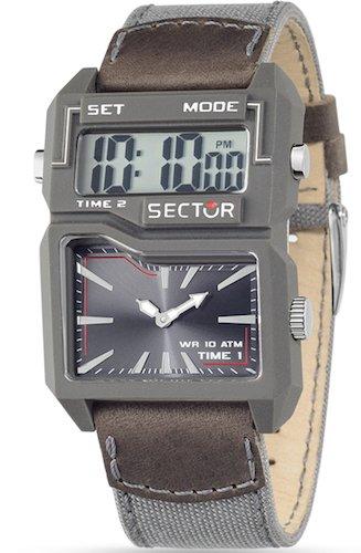 Uhr Dual Time Grey Street Fashion R3251584002 Sektor