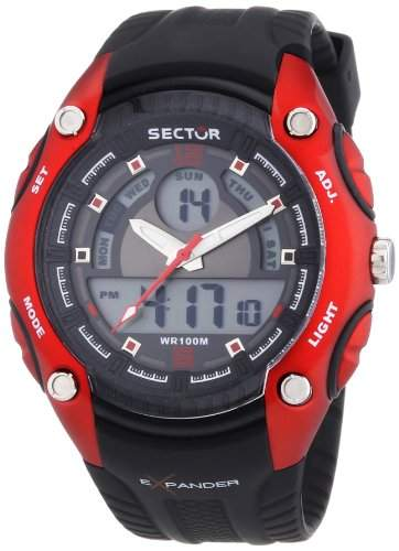 Sector Herren-Armbanduhr STREET FASHION Analog Quarz Kautschuk R3251574002