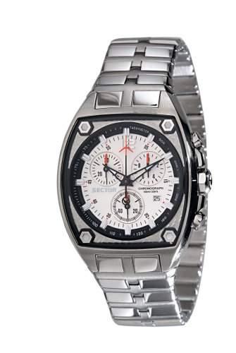 Sector Damen-Armbanduhr Analog Quarz Edelstahl R3253992515