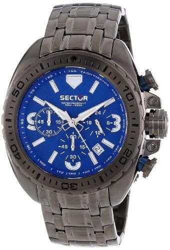 Sector Herren-Armbanduhr XL 600 Chronograph Quarz Edelstahl R3273573001