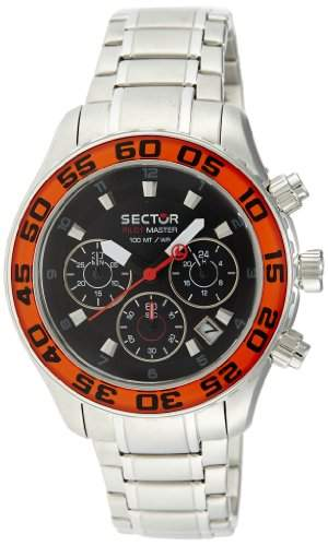 Sector Herren-Armbanduhr PILOT MASTER Chrongraph Quarz R3271679125