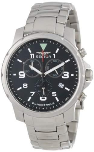 Sector Herren-Uhr Quarz Chronograph R3273689025