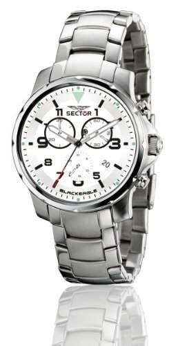 Sector Herren-Uhr Quarz Chronograph R3273689045