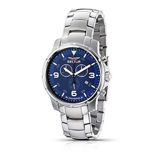 Sector Herren-Uhr Quarz Chronograph R3273689135