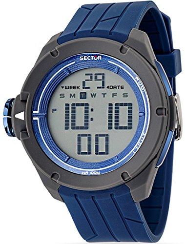 Sector Expander Street Fashion Digital blau Mann R3251589001 zu sehen