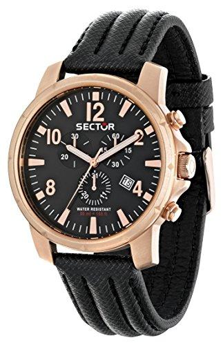 Sector r3271689003 Armbanduhr Herren Lederband