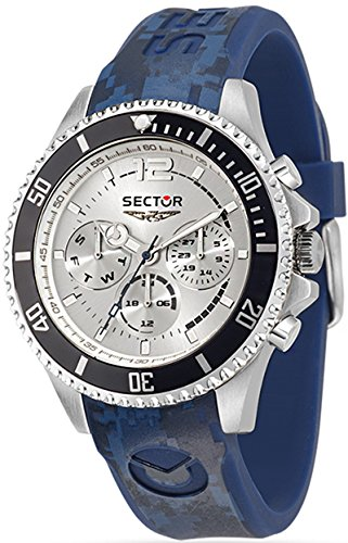Sektor Watch 43 mm 230 R3251161025 Marine Blue Ribbon