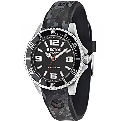 Sektor Watch 39 mm schwarz R3251161029 Zeit nur 230 Marine