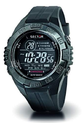 Sector Herren-Armbanduhr STREET FASHION Digital Quarz Kautschuk R3251372215