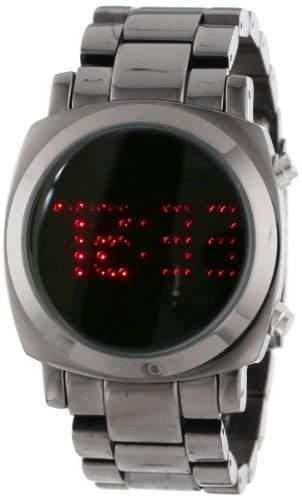TKO ORLOGI Frauen TK574-BK Digi-Metal Black Metal LED Watch