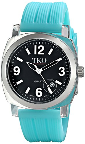 TKO ORLOGI Frauen TK558 BT Milano Junior Acrylic Case Black Dial Uhr