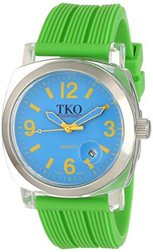 TKO ORLOGI Frauen TK558 NGR Milano Junior Acrylic Case Blau Zifferblatt