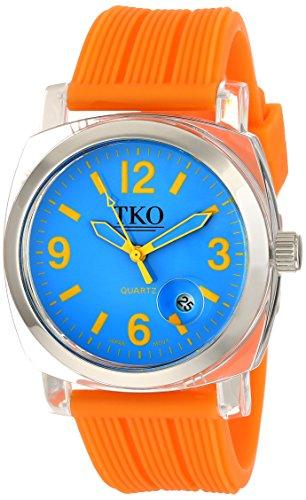 TKO ORLOGI Frauen TK558 NO Milano Junior Acrylic Case Blau Zifferblatt