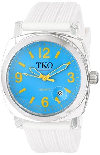 TKO ORLOGI Frauen TK558 NW Milano Junior Acrylic Case Blau Zifferblatt