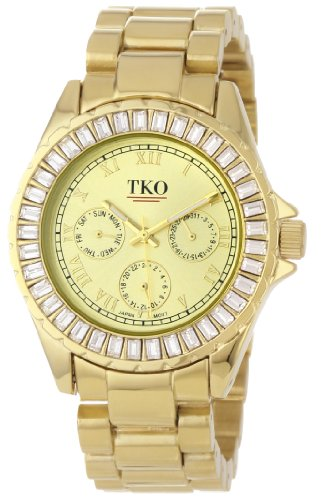 TKO ORLOGI Frauen TK520 GD Capri Metall Gold Swarovski Crystal ansehen