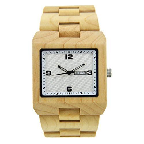 Armbanduhr Uhr Holz Wald Wooden Watch Unique Real Hand Crafted Style Natural Wood WOMENS gift