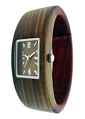 Uhr aus Holz Damen zs 003 a Zweifarbig EGLEMTEK TM