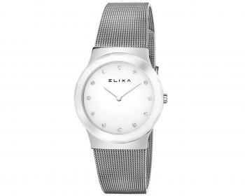 Uhr Elixa Ceramica weiss matte