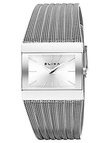 Uhr Elixa Stahl Matte Damen
