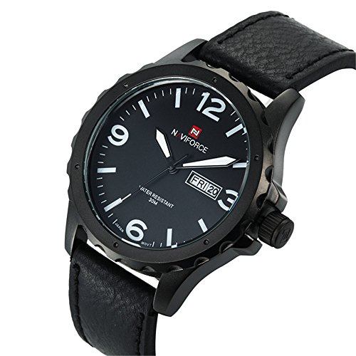 tamlee Classic Herren 9039b analog quartz Black Watch