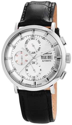 Engelhardt Herren-Armbanduhr XL Analog Automatik Leder 388222529007