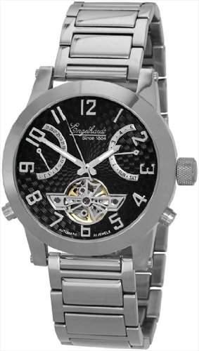Carucci Watches Herren-Armbanduhr XL Analog Automatik Edelstahl CA4503WH