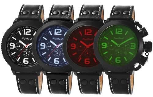 Engelhardt Herren-Uhren Automatik Kaliber 10480 ENG1101-BK-SET