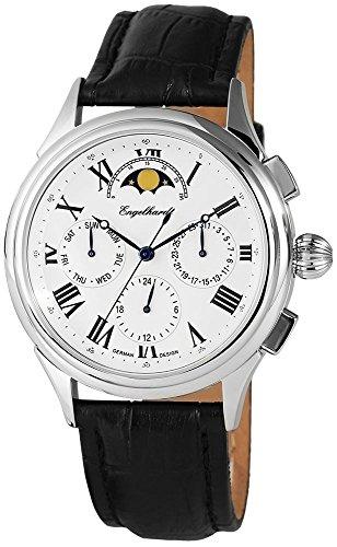 Engelhardt mit Echtlederarmband Armbanduhr Uhr 386722629003