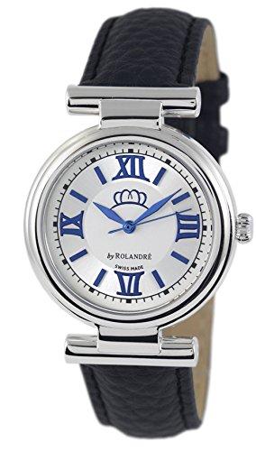 Miss Germany Uhr Damenuhr blau schwarz 34 mm
