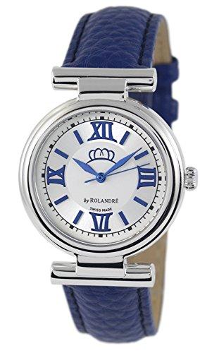 Miss Germany Uhr Damenuhr blau blau 34 mm