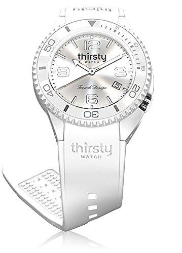 Thirsty Unisex Armbanduhr Silikon Coco