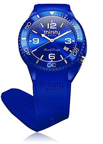 Thirsty Unisex Armbanduhr Silikon Star Flower