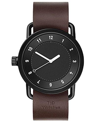 Tid Watches Analog Quartz Leder Braun 10010103