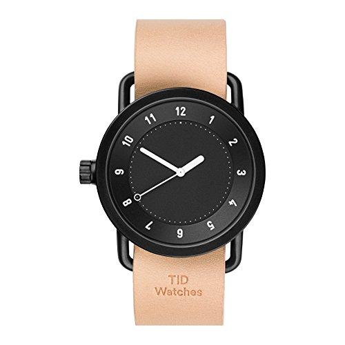 Tid Watches Analog Quartz Leder Beige 10010105