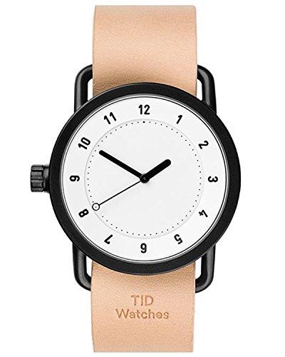 Tid Watches Analog Quartz Leder Beige 10110105