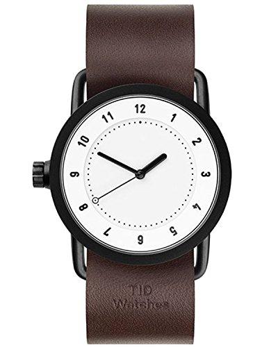 Tid Watches Analog Quartz Leder Braun 10200103