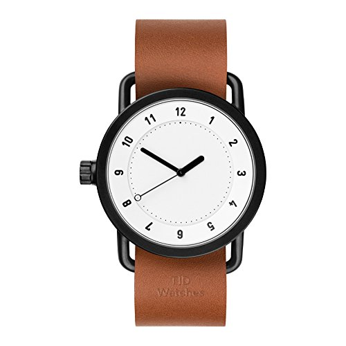 Tid Watches Analog Quartz Leder Braun 10200104