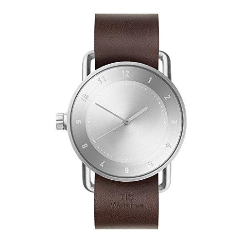 Tid Watches Analog Quartz Leder Braun 20020203