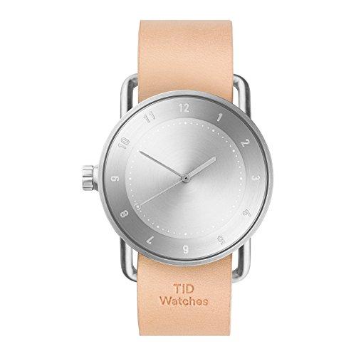 Tid Watches Analog Quartz Leder Beige 20020205