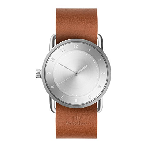 Tid Watches Analog Quartz Leder Braun 20220204