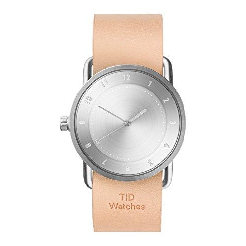 Tid Watches Analog Quartz Leder Beige 20220205