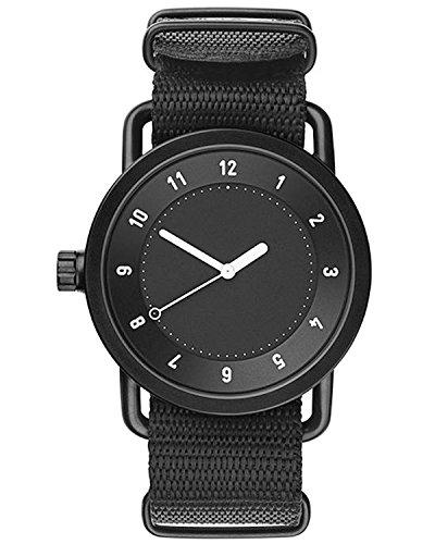 Tid Watches Analog Quartz Schwarz 10010121