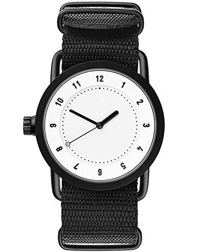 Tid Watches Analog Quartz Schwarz 10200121