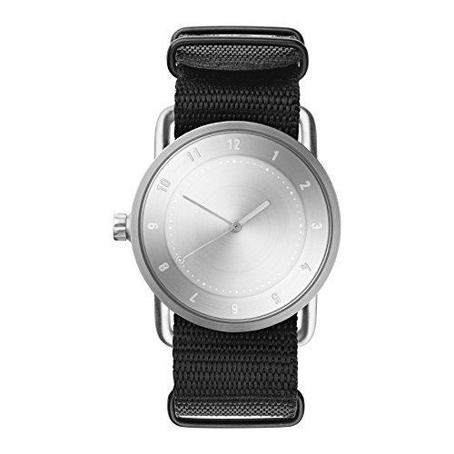 Tid Watches Analog Quartz Schwarz 20220221