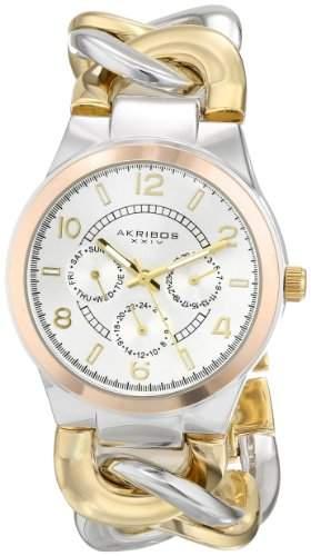Akribos XXIV Damen-Armbanduhr Ultimate Tone Armband
