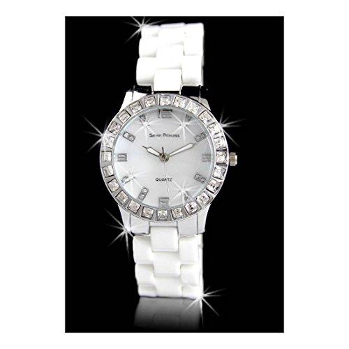 Damen Armbanduhr Keramik Seven Princess 2280