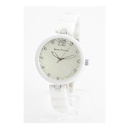 Zeigt Damen Armband Weisser Keramik 173