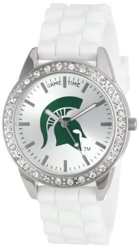 "Game Time Damen COL-FRO-MSU ""Frost"" Armbanduhr - Michigan State"