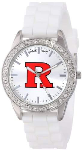 "Game Time Damen COL-FRO-RUT ""Frost"" Armbanduhr - Rutgers"