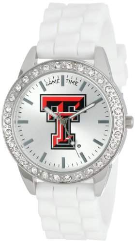 "Game Time Damen COL-FRO-TXT ""Frost"" Armbanduhr - Texas Tech"